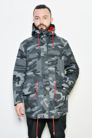 Parka Camouflage Yourself PJ_ moro