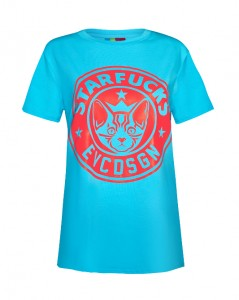 Starfucks TSHRT_blue