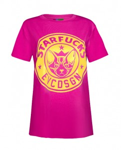 Starfucks TSHRT_fresh pink